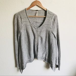 Free People Front hook cardigan size small